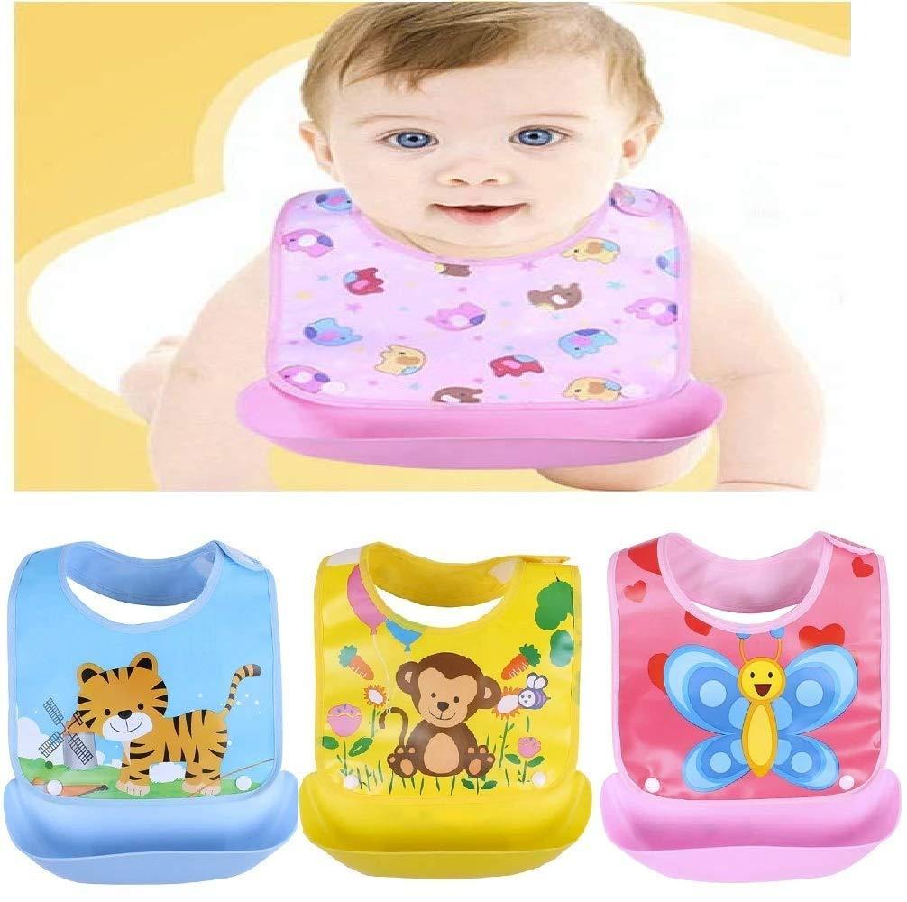 Waterproof Soft Silicone Baby Bibs