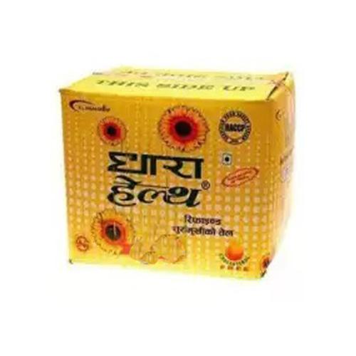 Dhara Health Sunflower Oil 1 Ltrs (BOX) 10 Ltrs