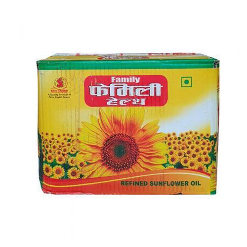 Family Health Refined Sunflower Oil - 1 Box