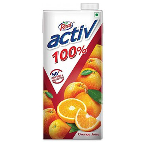 Real Active Orange Juice 1 Ltr