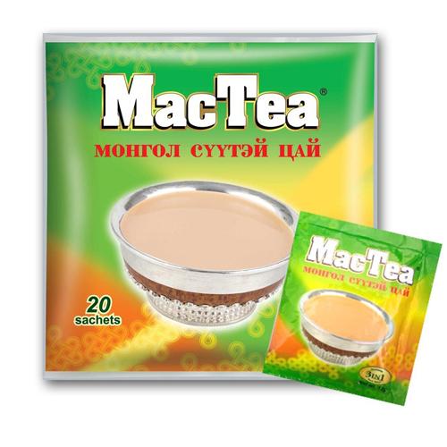 MacTea Mongolian Salt tea 3 in 1 20 scht