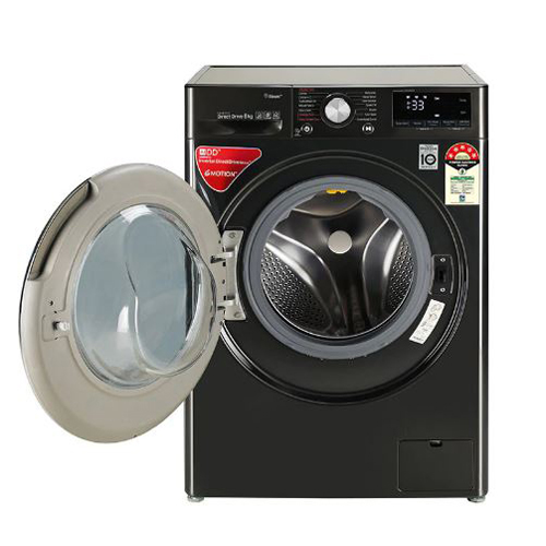 8.0Kg AI Direct Drive Washer with Steam & TurboWash