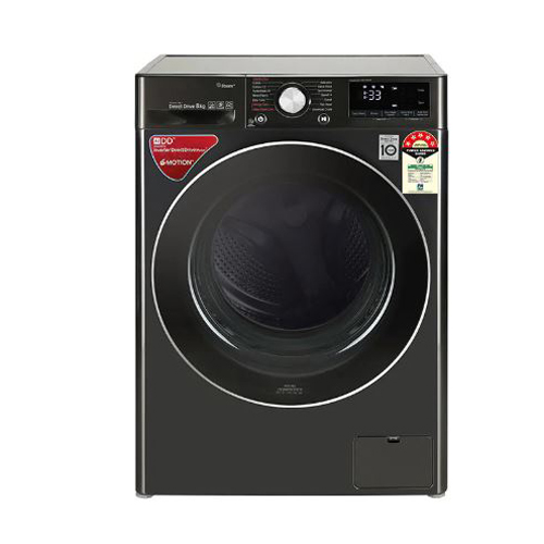 9.0Kg AI Direct Drive Washer with Steam & TurboWash