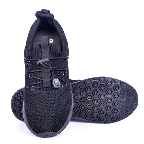 Goldstar Black Sports Shoes For Men G10G205