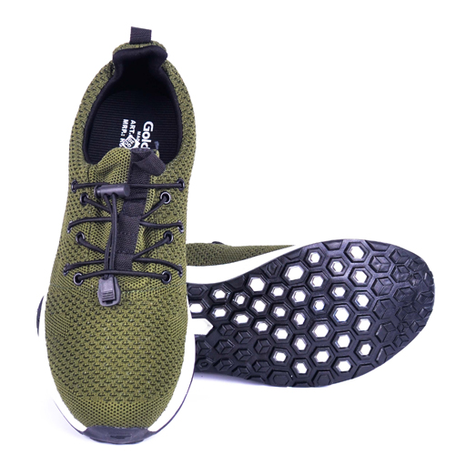 Goldstar Olive Sports Shoes For Men G10G205