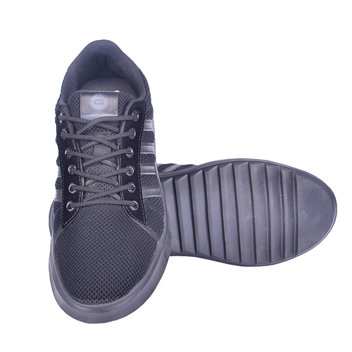 Goldstar Full Black Sports Shoes For Men G10-1301