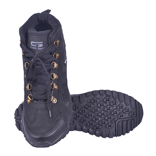 Goldstar Black Shoes For Men G10-401