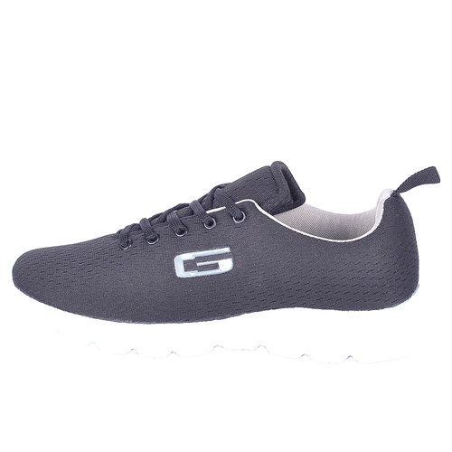 Goldstar Black Sports Shoes For Men G10-701