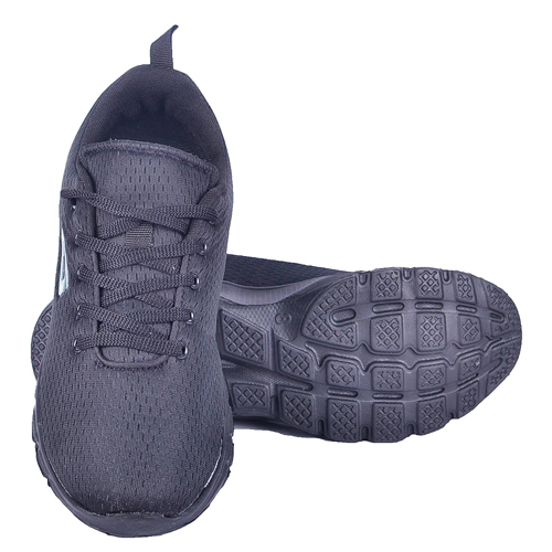 Goldstar Full Black Sports Shoes For Men G10-701