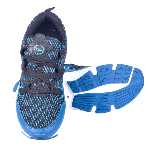Goldstar Blue Shoes For Men G10-302