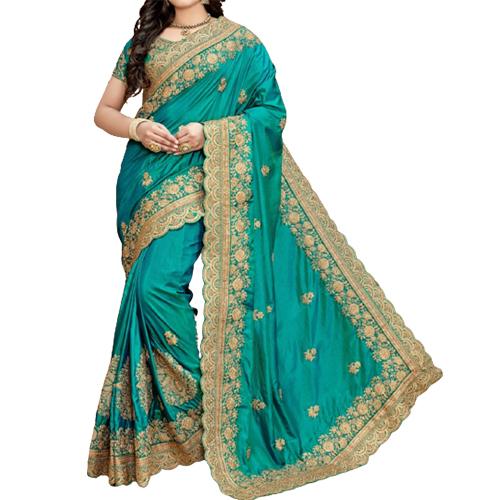 Womens Glossy Saree