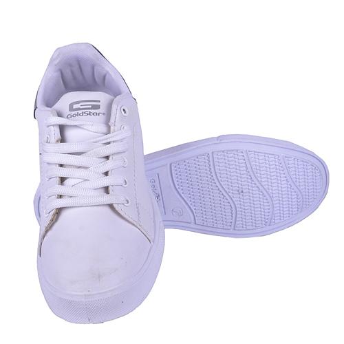Goldstar White Black Sports Shoes For Men ZED-02