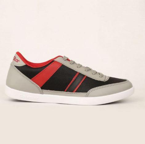 GoldstarRed/Grey Classic Shoes For Men BNT-4