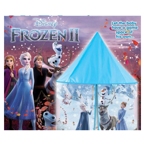 Jumbo Size Foldable Indoor Outdoor Frozen Barbie Plastic Play Tent House for Girls and Boys