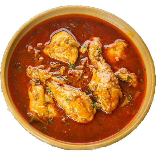 Chicken Curry (Serve with 3pc roti)
