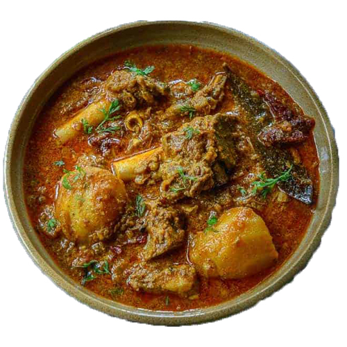 Mutton Curry (Serve with 3pc roti)