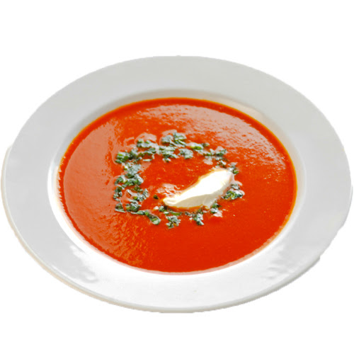 Cream of tomato veg soup