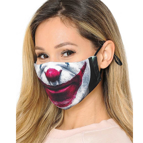 Graphic Joker Printed Unisex Face Mask