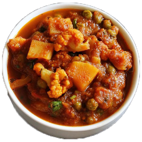 Aloo Gobi Masala (Serve with 3 pcs of roti)