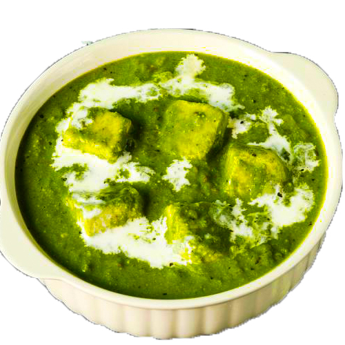 Palak Paneer (Serve with 3 pcs of roti)