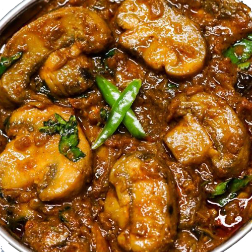 Mushroom Curry (Serve with 3 pcs of roti)