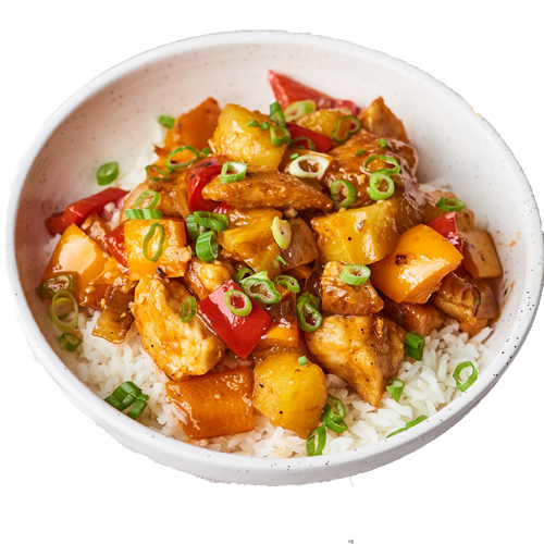Sweet & Sour Chicken (Serve with plain rice)