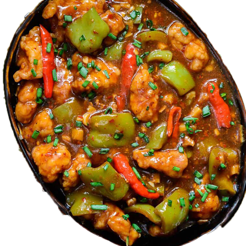 Hot garlic Chicken (Serve with plain rice)