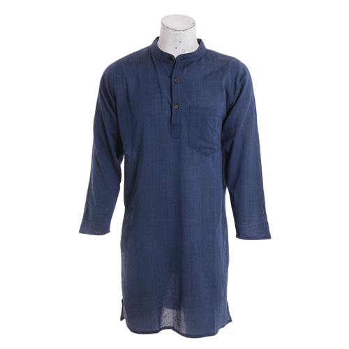 Men's Summer Long Blue Fashion Kurtha Collection