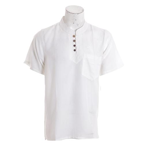 Men's Summer half white Fashion Kurtha Collection