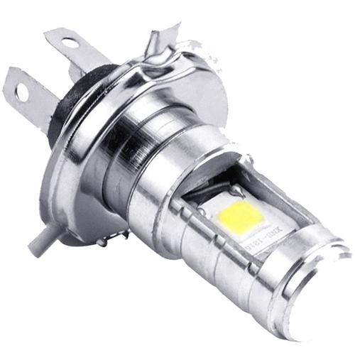 Auto Hub High Brightness CYT White LED Headlight Bulb,Conversion Kit Light for Motorcycle