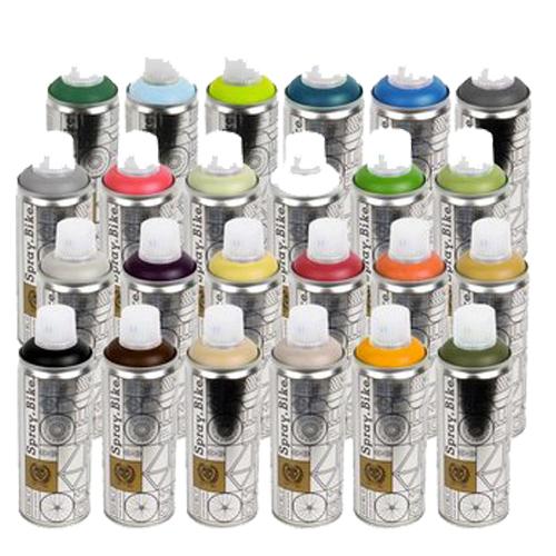 Cube multipurpose aerosol shiny/gloss BLACK spray