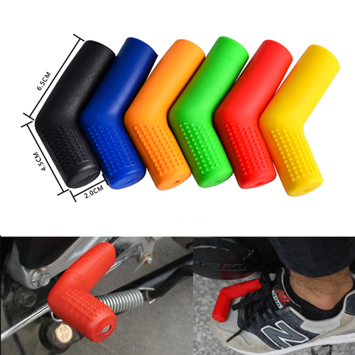 Rubber Shiftier Sock Boot Shoe Protector Shift Cover Motorcycle
