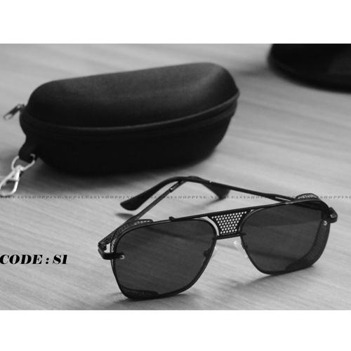 Metal Black Frame UV protection