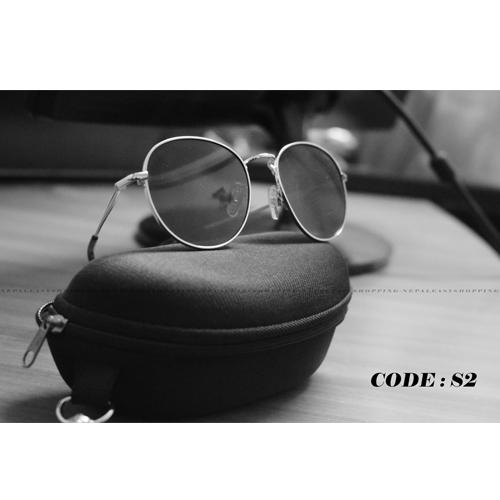Round Shape Metal Frame Sunglasses