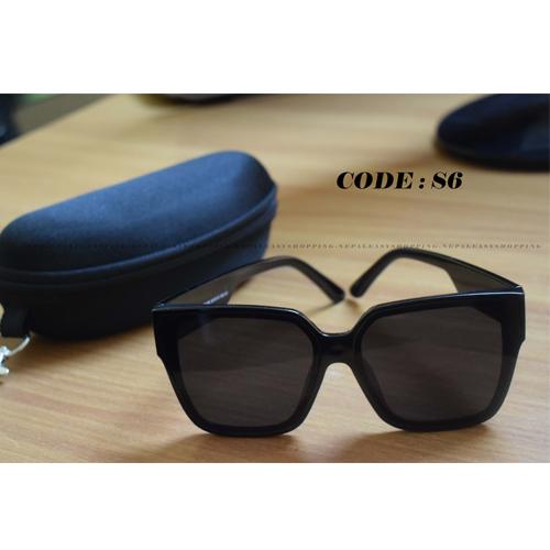 Rectangular Mens Black  Frame  Sunglasses