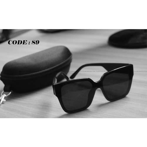 Full Frame Black Shape Sunglasses