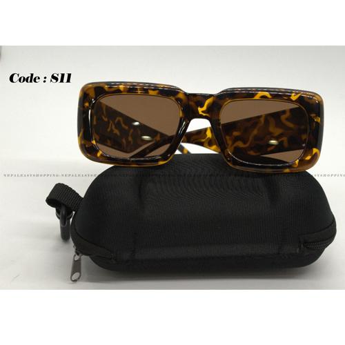 Leopard Print Women's Sunglasses