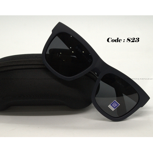Men's Black Frame Sunglasses