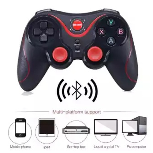 Gen Game S6 Wireless Bluetooth Joystick Gamepad Controller With Bracket Holder, Receiver Kits For For Android Game Tablet Tv Box -
