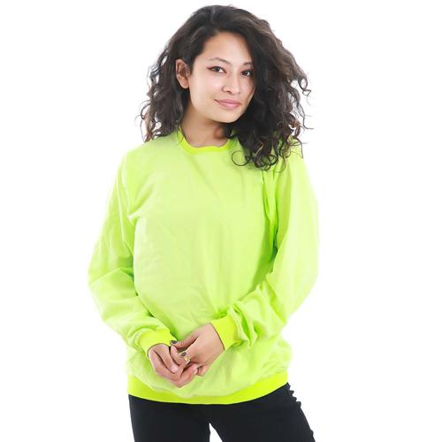 Light Green Sweatshirt with Long Sleeves