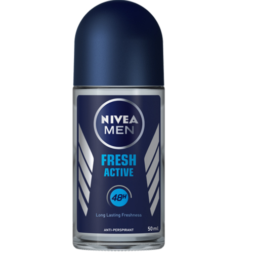 Nivea Deo Roll On Fresh Male, 50ml