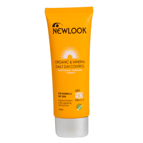 Newlook Suncontrol spf 50 for Normal & Dry skin-100ml