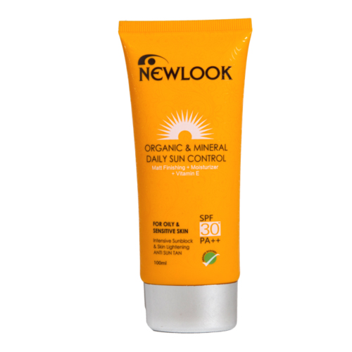 Newlook Sun Control SPF 30 for Oily & Sensitive Skin 60ml