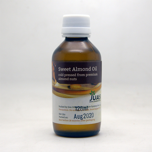 Juas Cold-Pressed Sweet Almond Oil-120ml