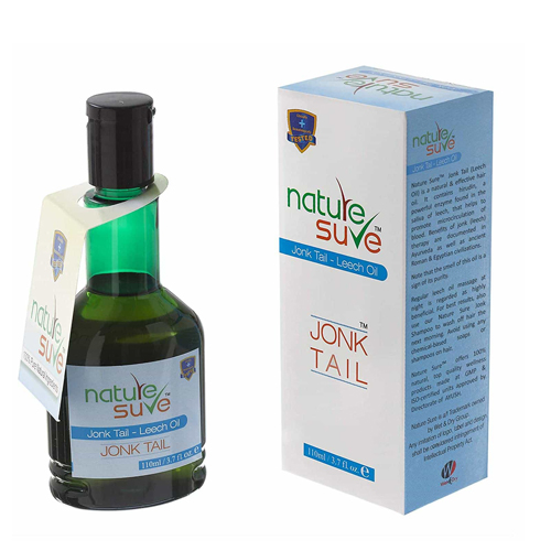 Nature Sure Jonk & Leech Oil 110 Ml Hair Oil 100 Ml