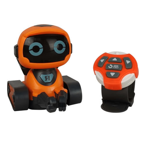 Cartoon Smart Watch Remote Control Toy Rc Robot With Led Gift Toy Walking Robot For Children
