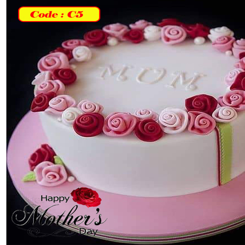Mother's Day Special Cake - Code C5