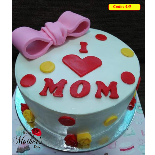 Mother's Day Special Cake - Code C6