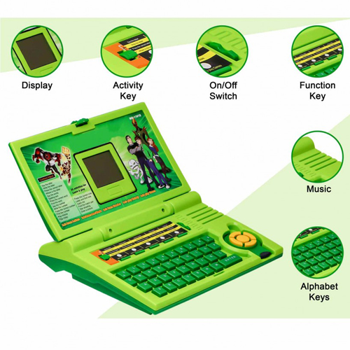 Ben 10 English Learner Laptop For Kids