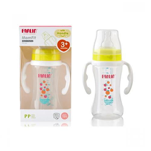 Farlin Feeding Bottle  Wide Neck W/handle 270ml